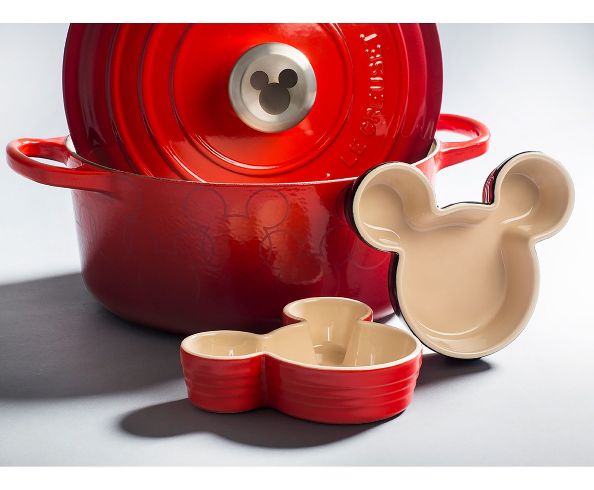Mickey Mouse ramekins from Le Creuset