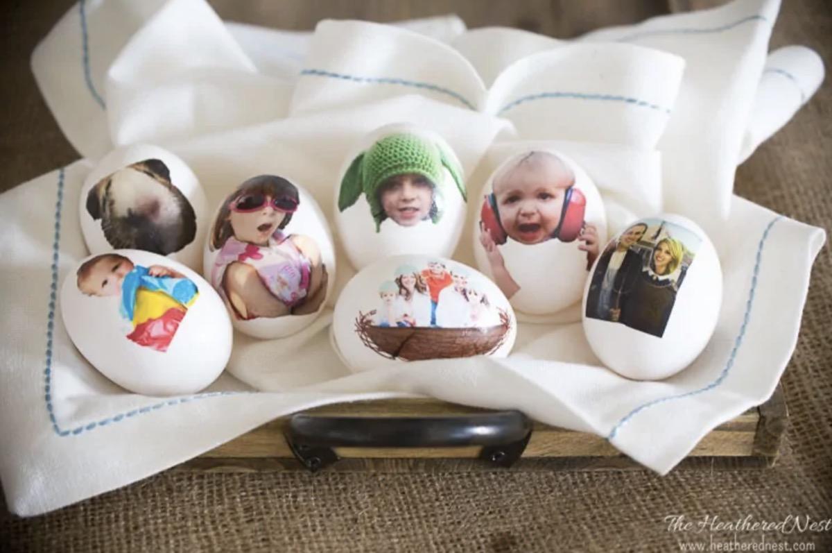 Photo eggs