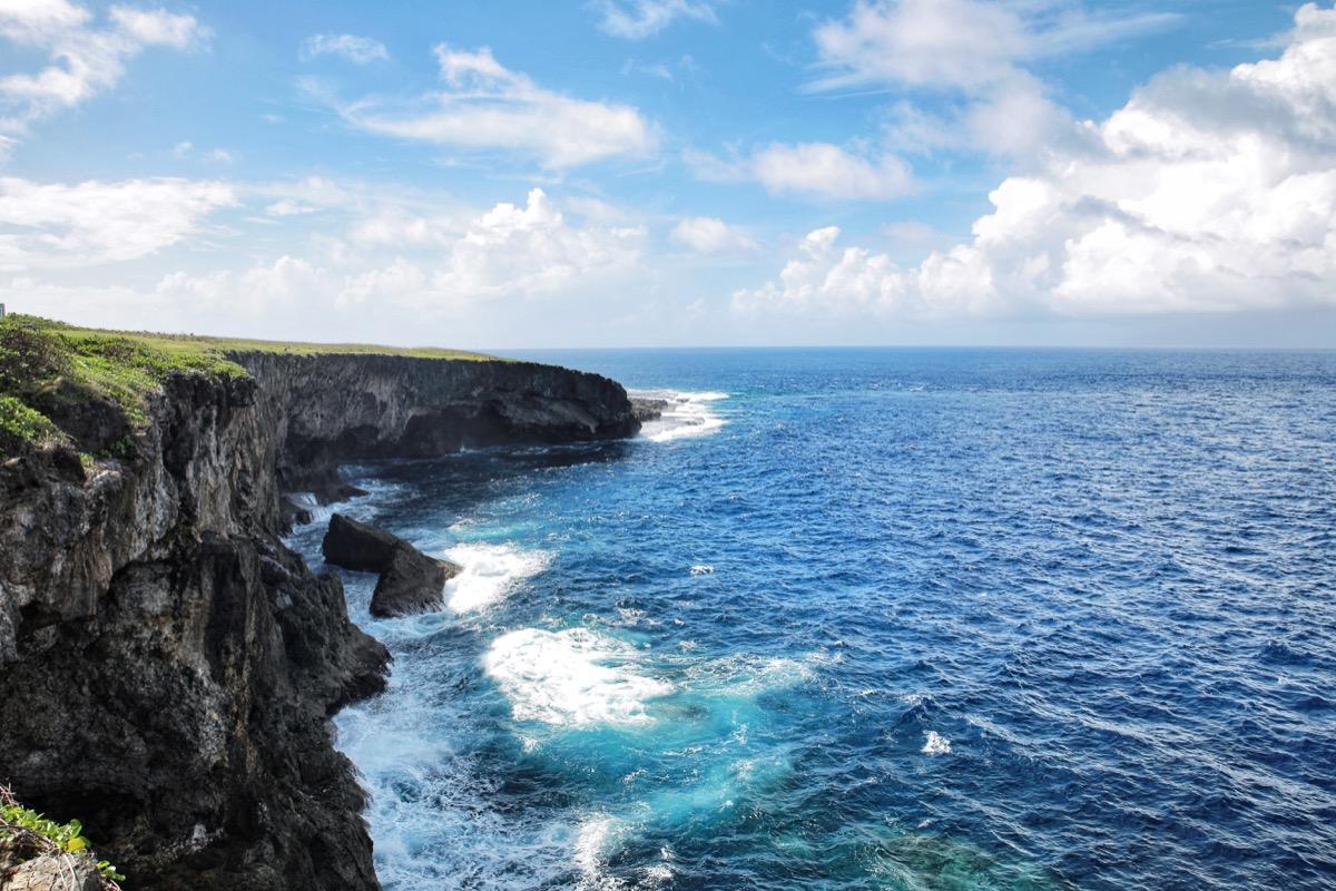 banzai cliff saipan northern mariana islands