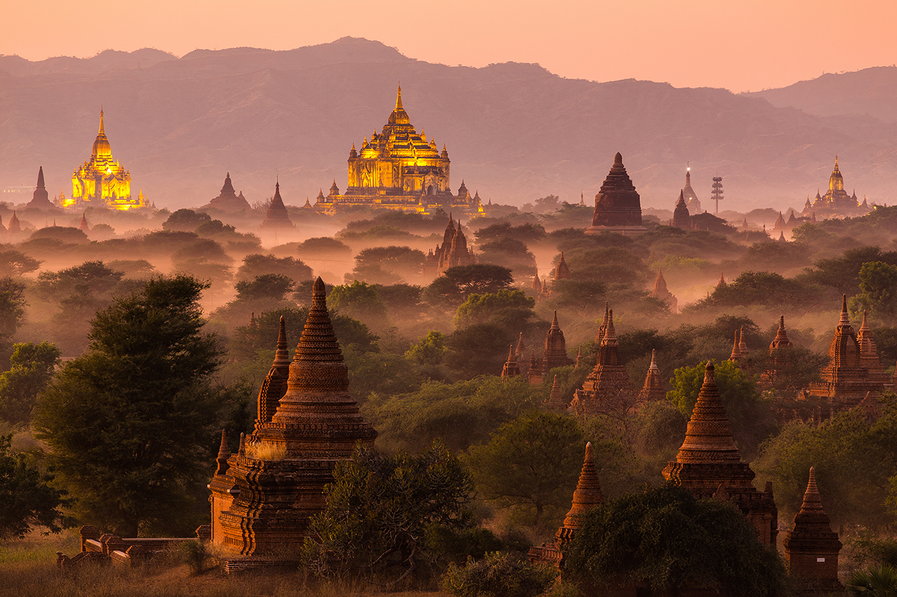 the pagodas a world heritage site in myanmar