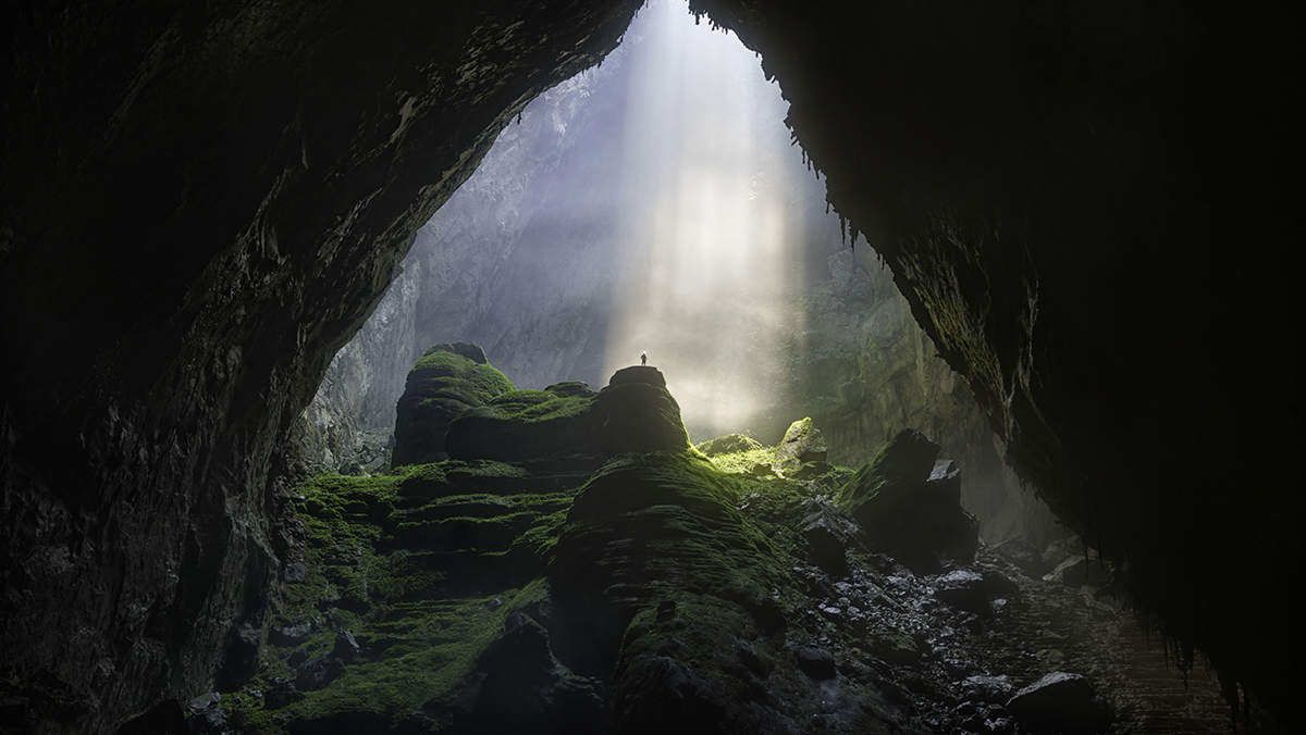 the largest cave in the world, Vietnam