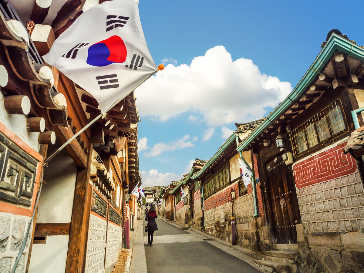 South Korea traditional architecture
