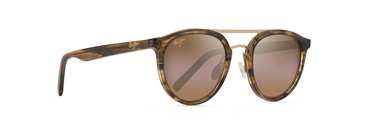 green tortoiseshell glasses