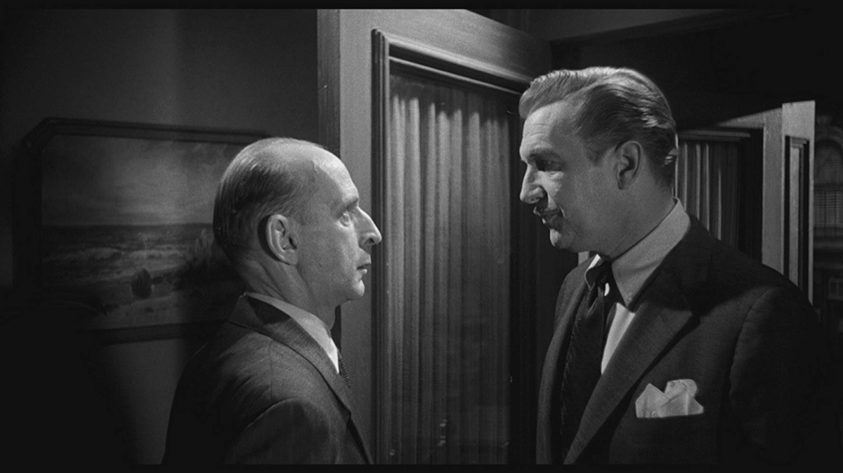 the tingler movie characters talking