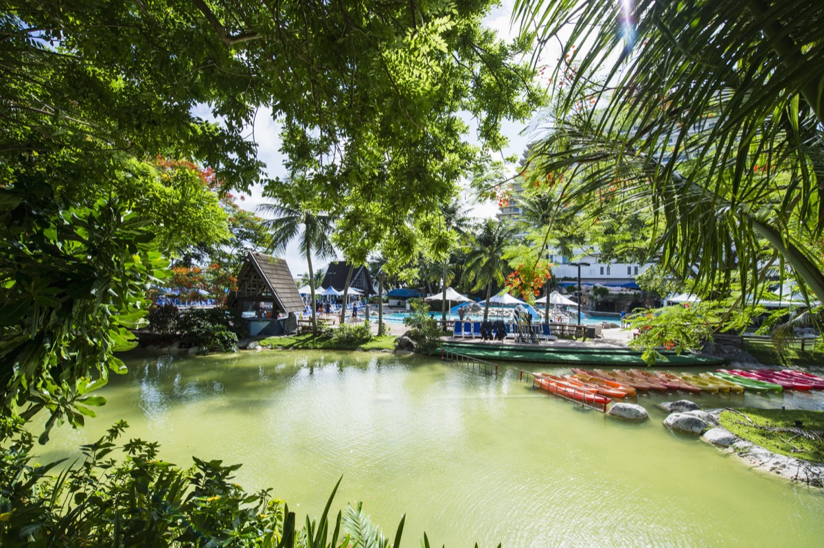 hotel garden in tumon bay guam