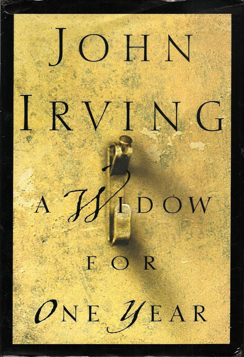 Book cover of A Widow for One Year by John Irving