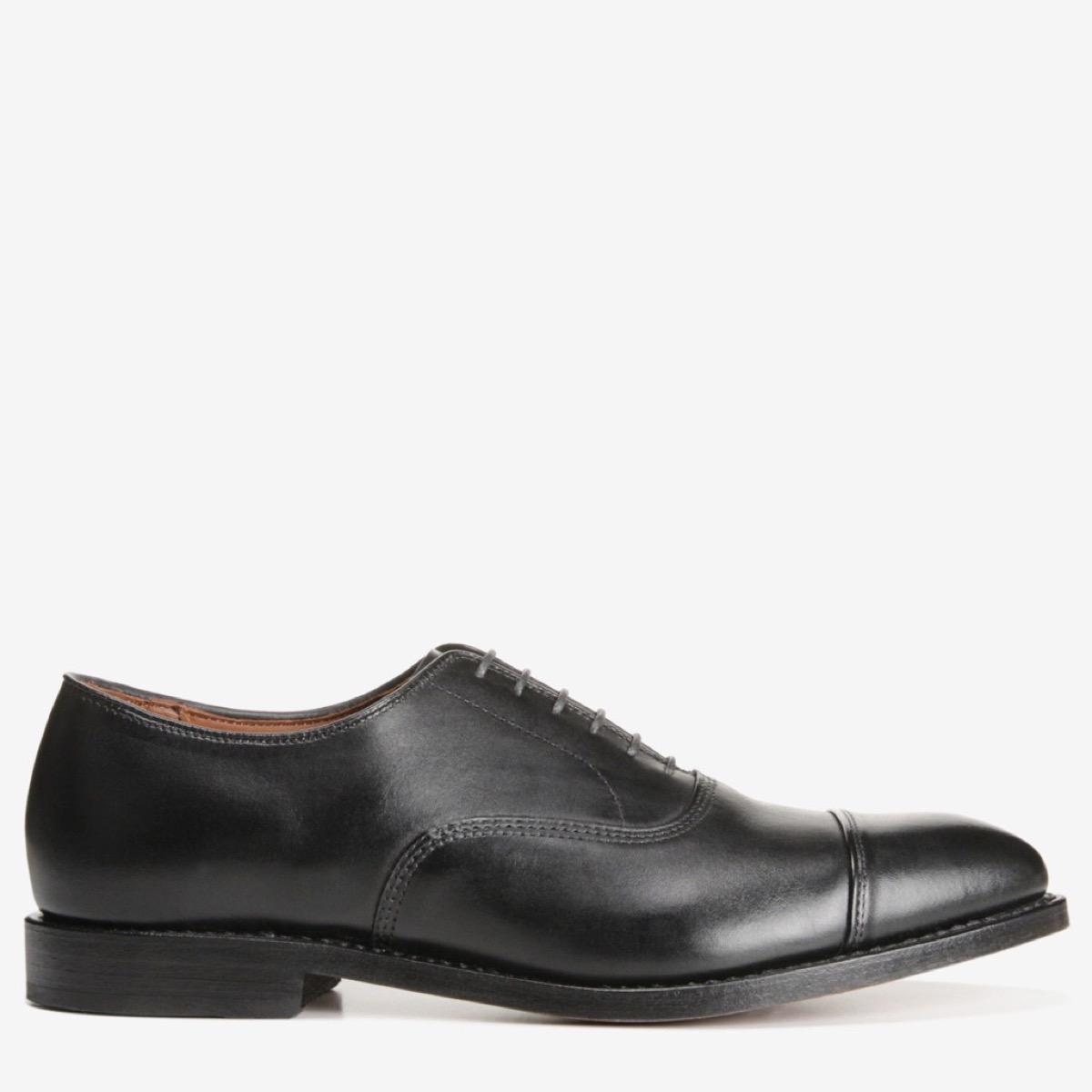 black leather men's shoe from Allen Edmonds