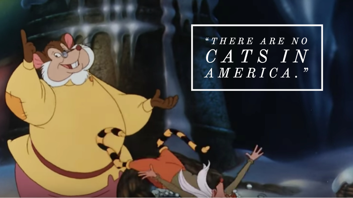 An American Tail movie quote