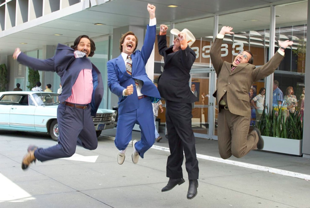 Still from the movie Anchorman