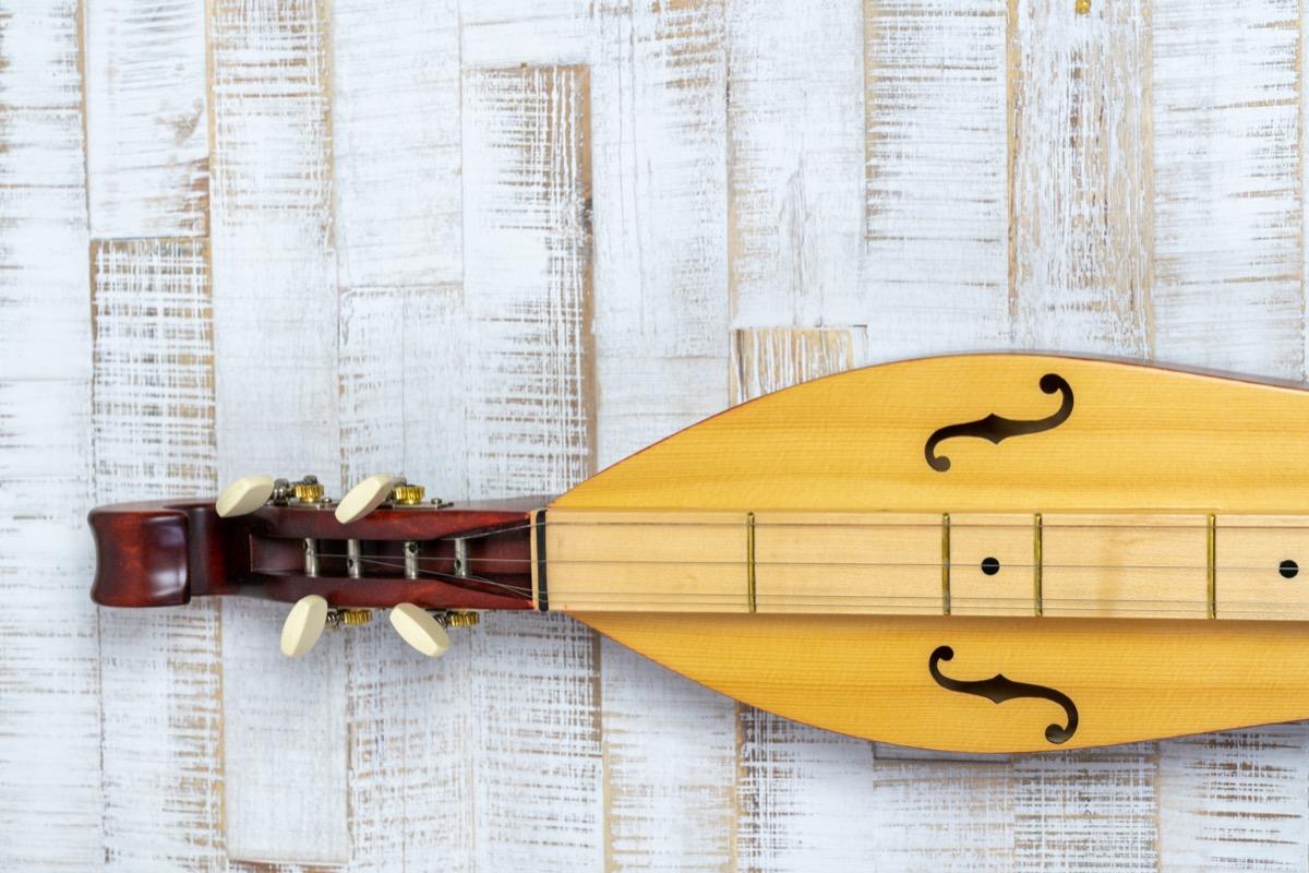 Appalachian dulcimer musical intrusment