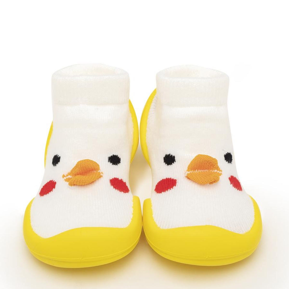 chick or duck baby shoes