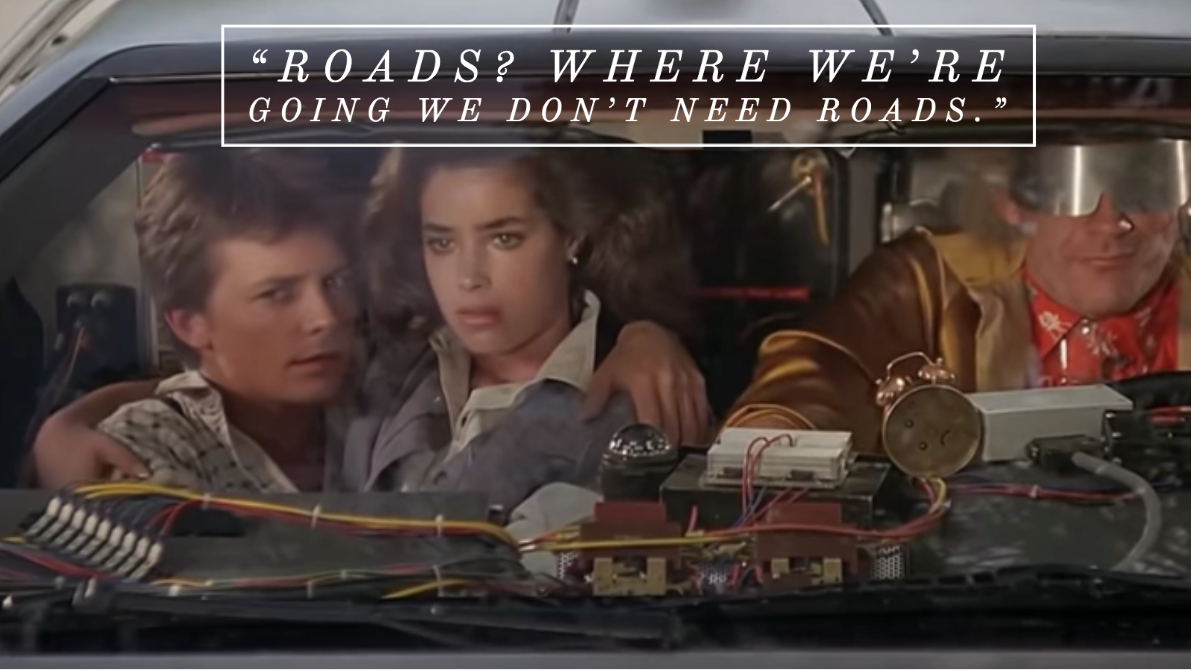 Back to the Future quote