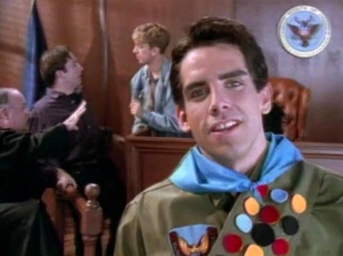 Boy Scout scene from The Ben Stiller Show