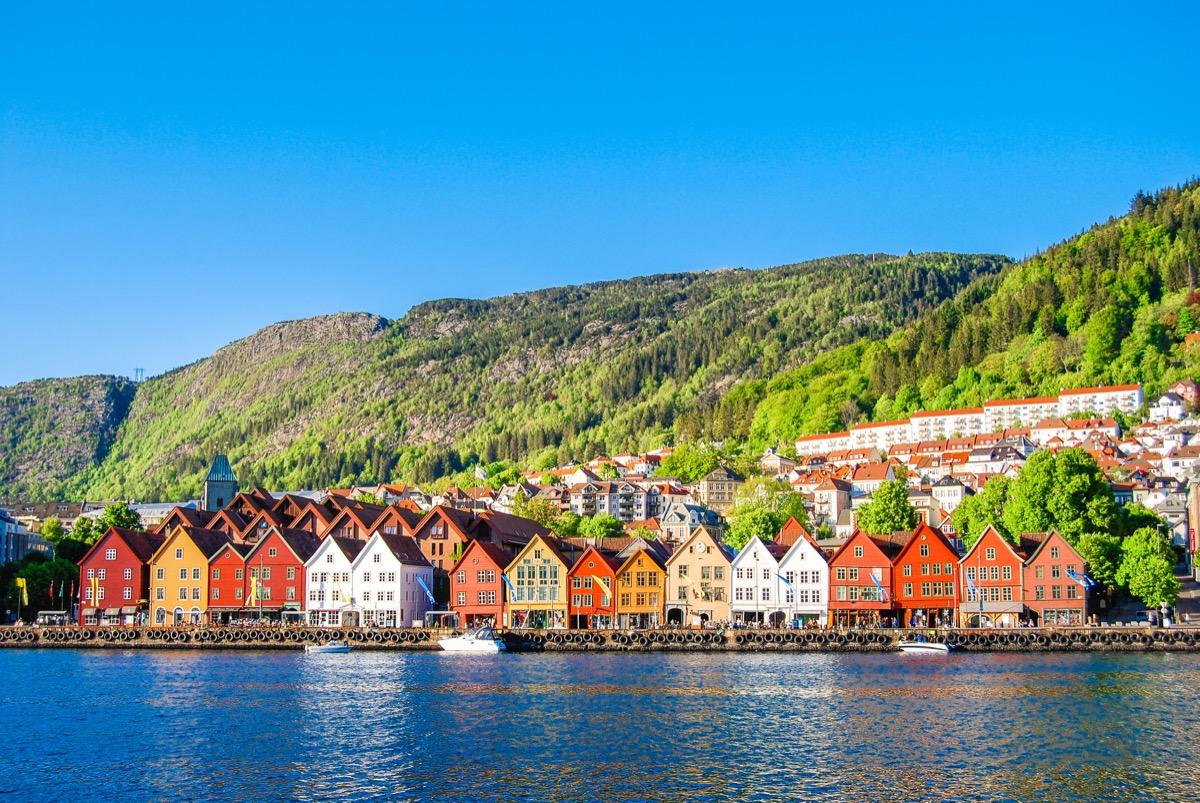 Bergen, Norway (summer)