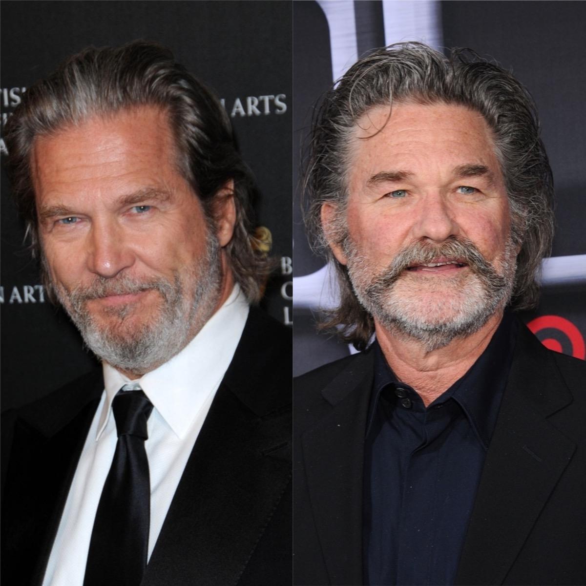 Jeff Bridges and Kurt Russell