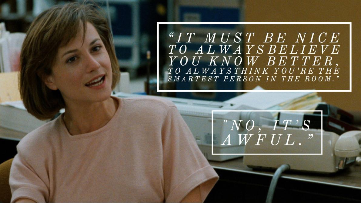 Broadcast news movie quote