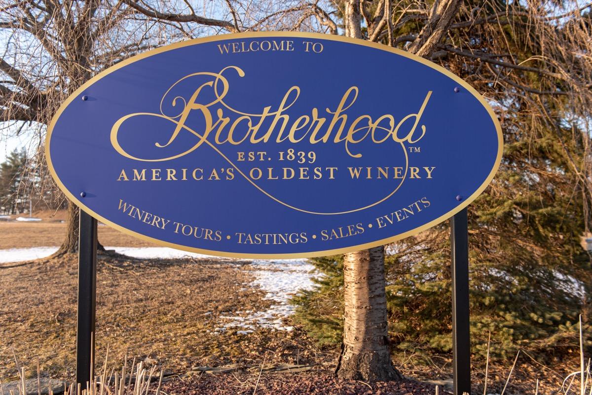 brotherhood winery in washingtonville New York