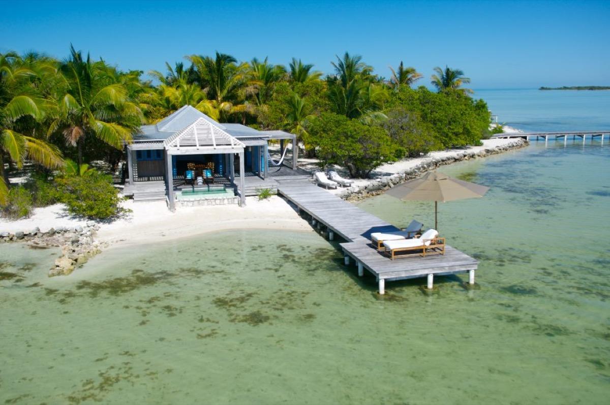 casa brisa private villa on cayo espanto island