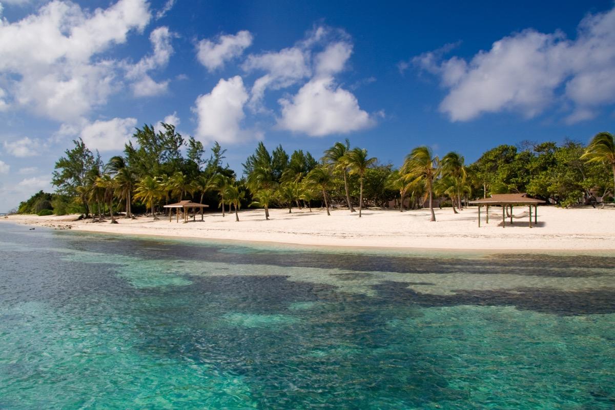beach on cayman brac