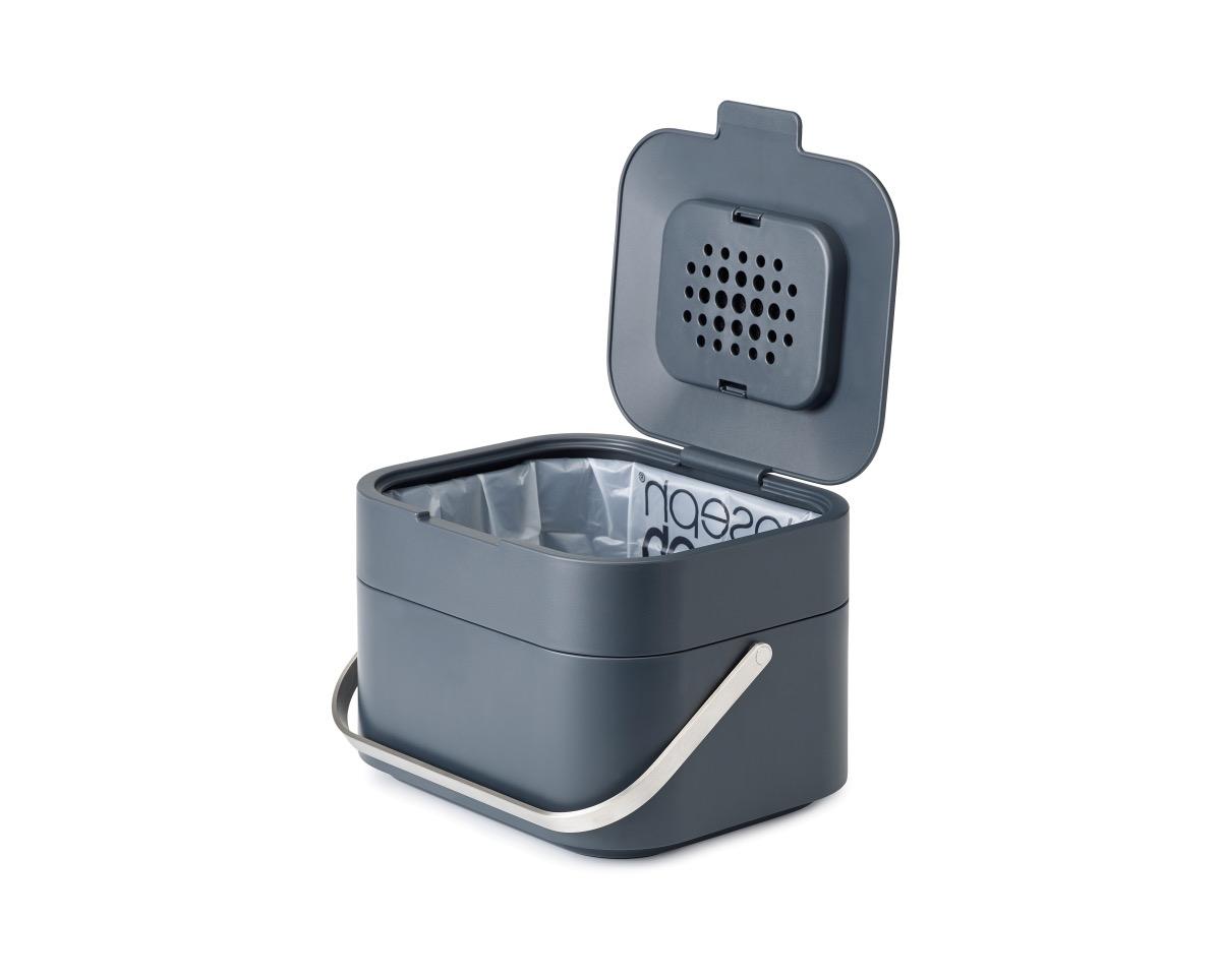 gray countertop composter