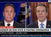 chris and andrew cuomo discuss coronavirus and the economy on cnn