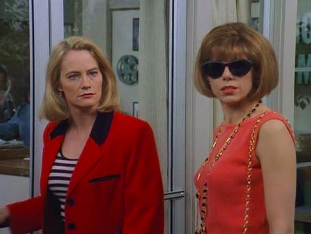 Cybill Shepherd and Christine Baranski in Cybill