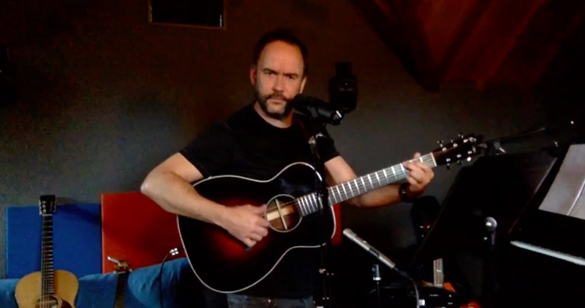 Dave Matthews online concert