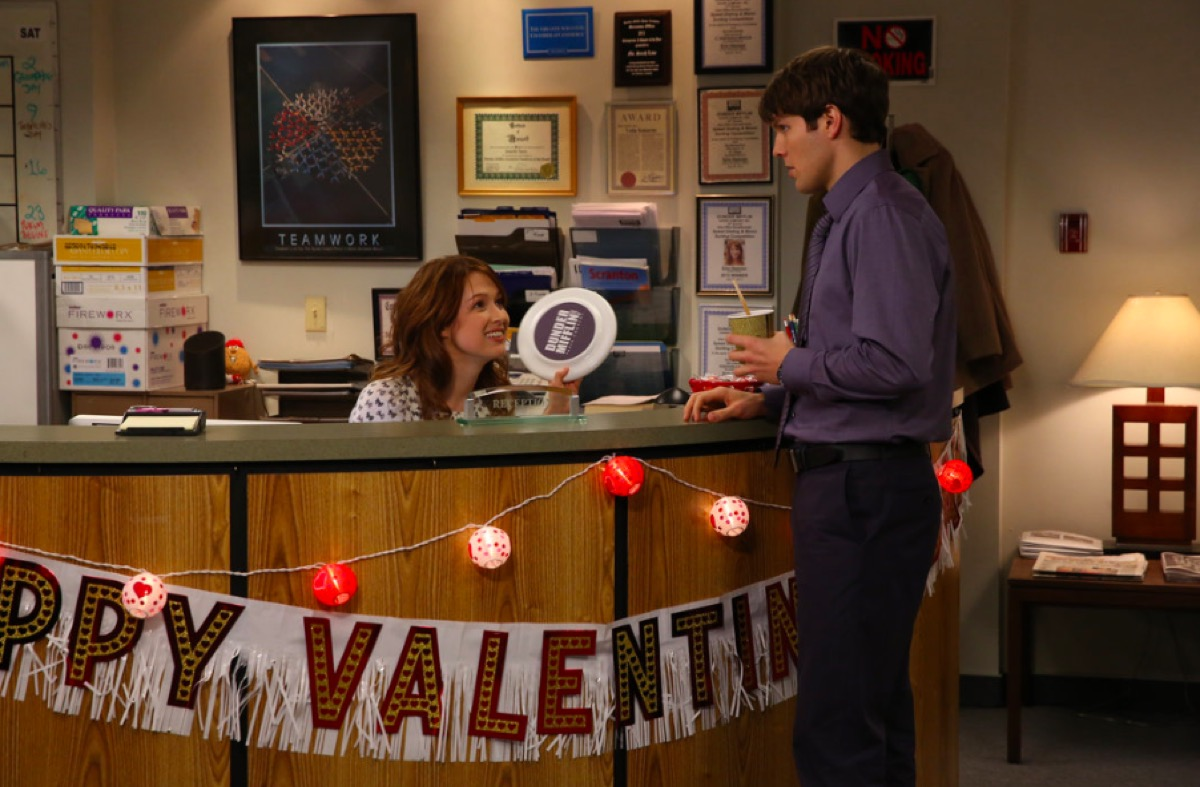 The Office desk Valentine's Day