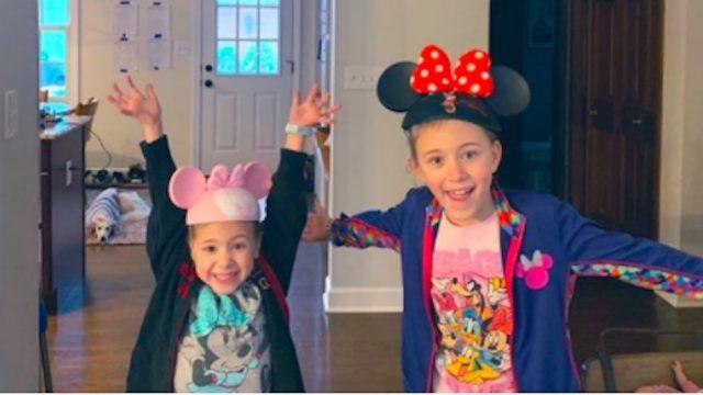 family recreates disney world trip at home lockdown