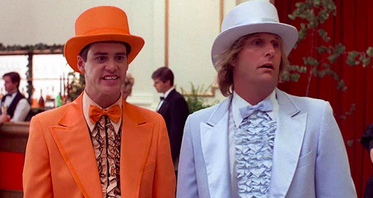 Jim Carrey and Jeff Daniels in Dumb & Dumber