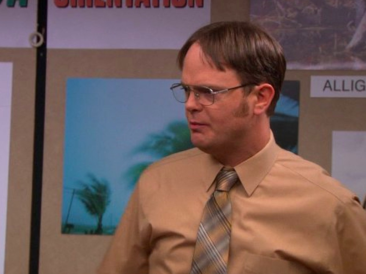 Dwight in The Office