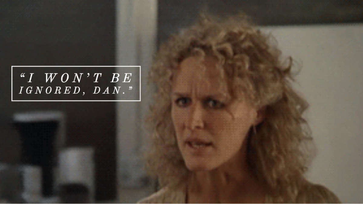 Fatal Attraction movie quote
