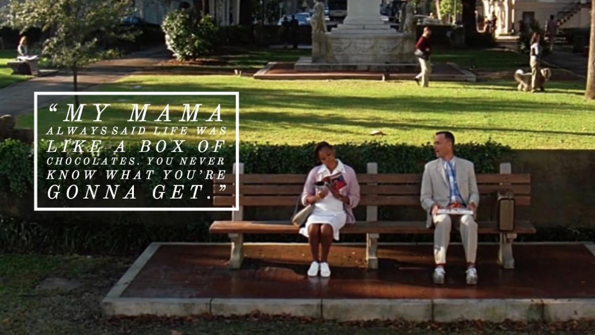 Forrest Gump movie quote