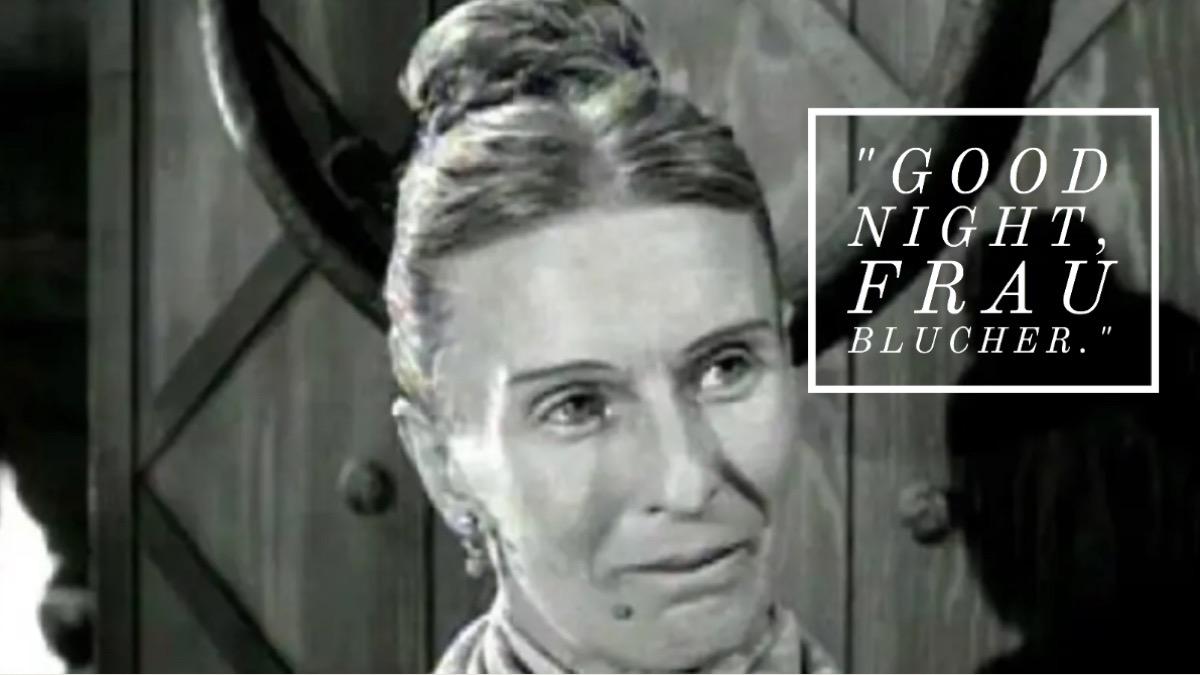 Young Frankenstein movie quote