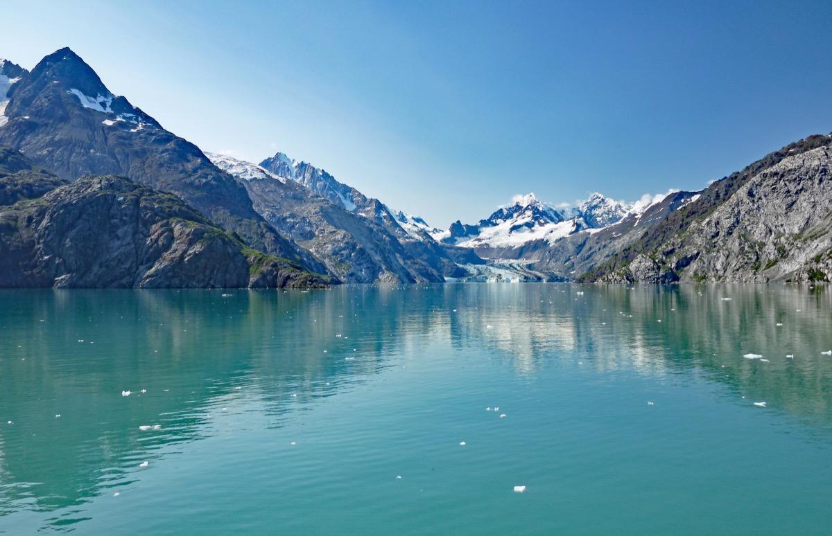 Advancing towards Margerie Glacier in Glacier Bay National Park, Alaska