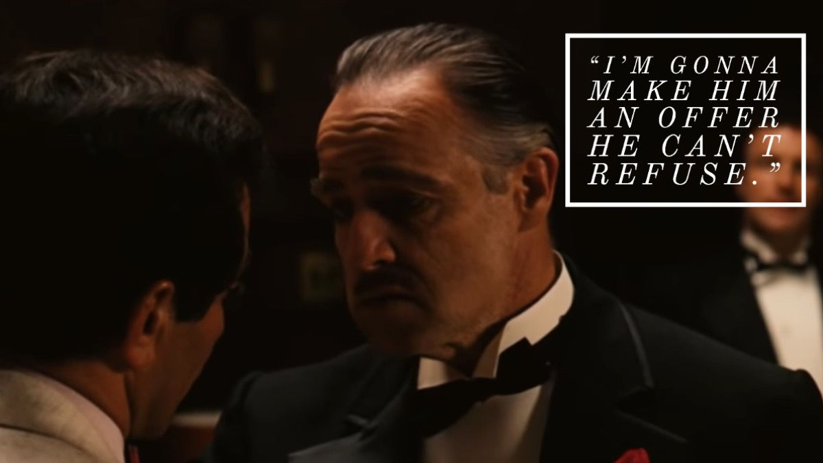 The Godfather movie quote