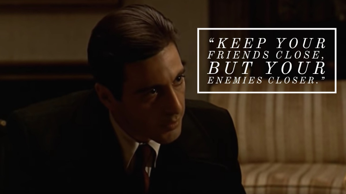 The Godfather Part II quote
