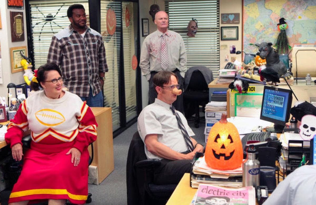 Halloween on The Office