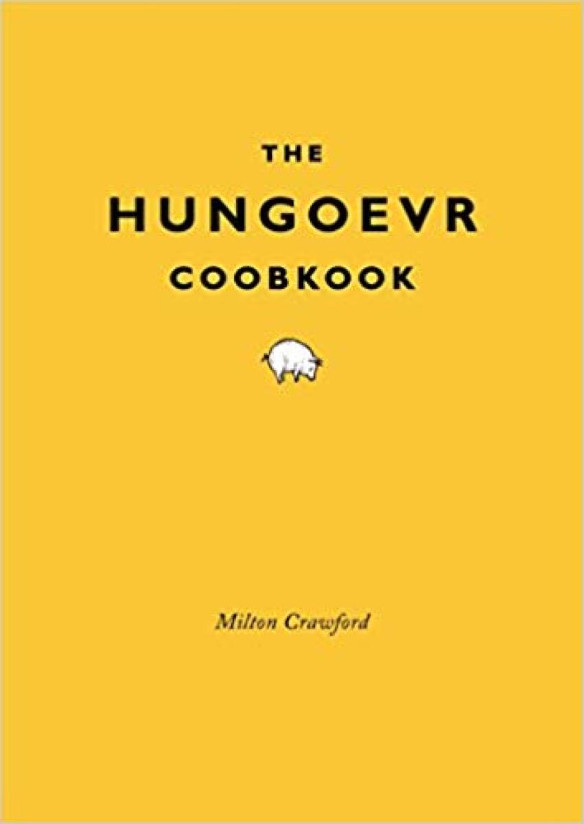 hungoevr cookbook gag gift