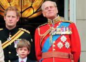 prince harry and his grandfather prince philip
