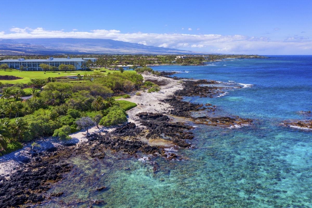 big island hawaii coastline