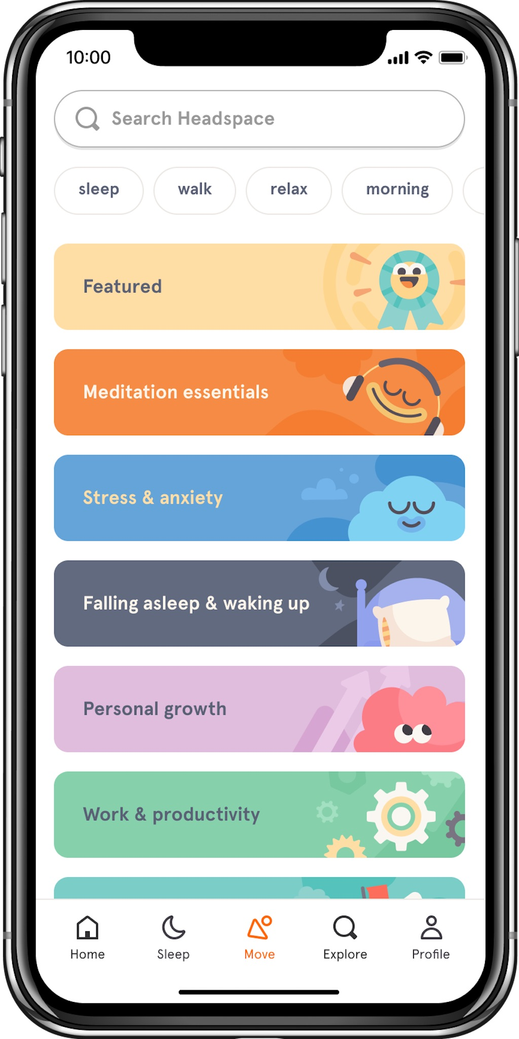 headspace app anxiety