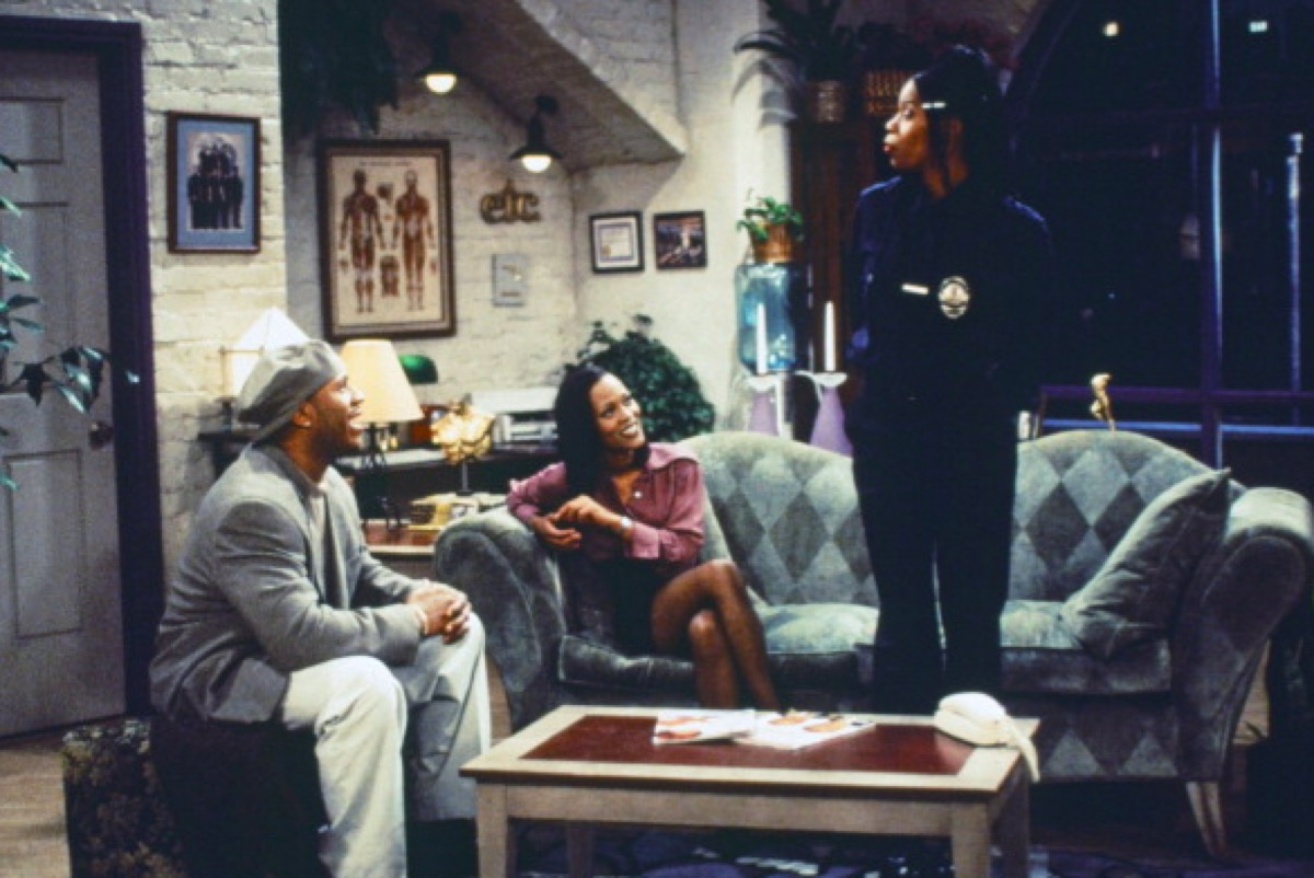 LL Cool J, Robin Givens, and Kim Wayans in In The House