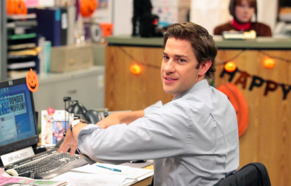 Jim in The Office