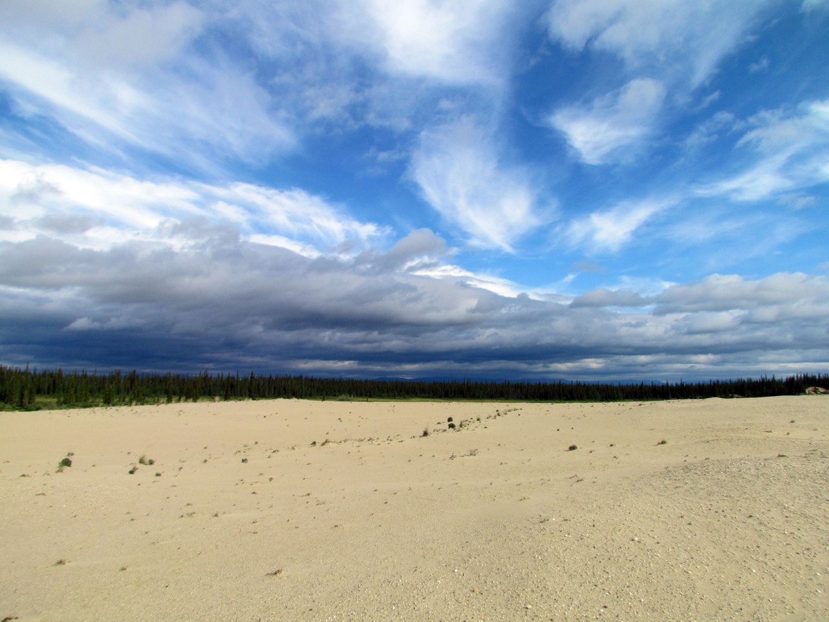Clouds over Sand Dunes in the Kobuk Valley