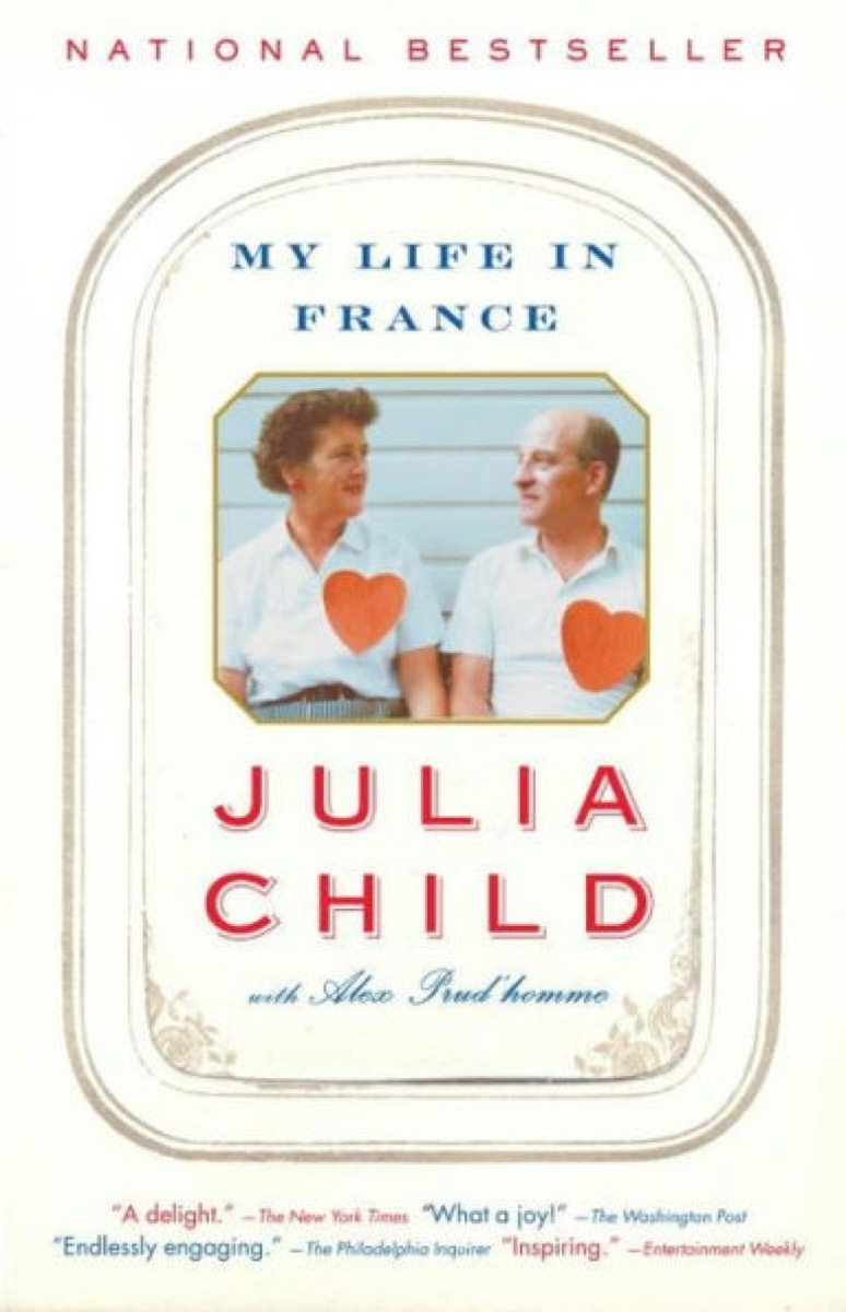 My Life in France by Julia Childs