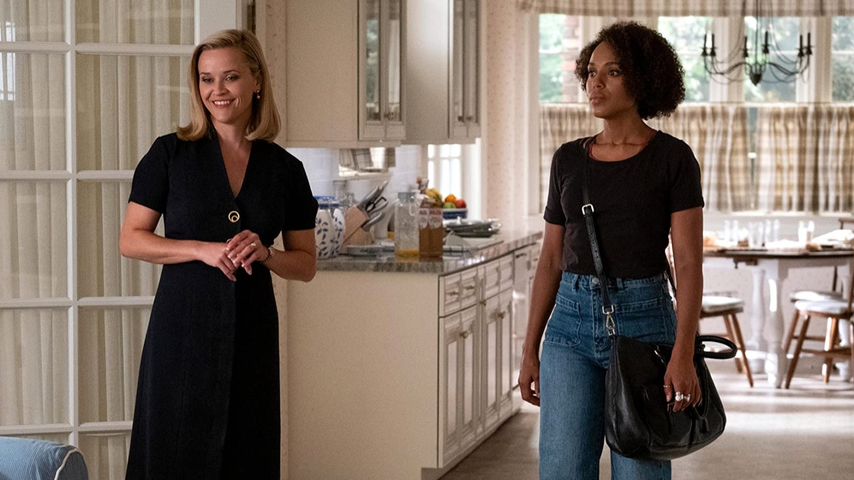 Reese Witherspoon and Kerry Washington in Little Fires Everywhere on Hulu