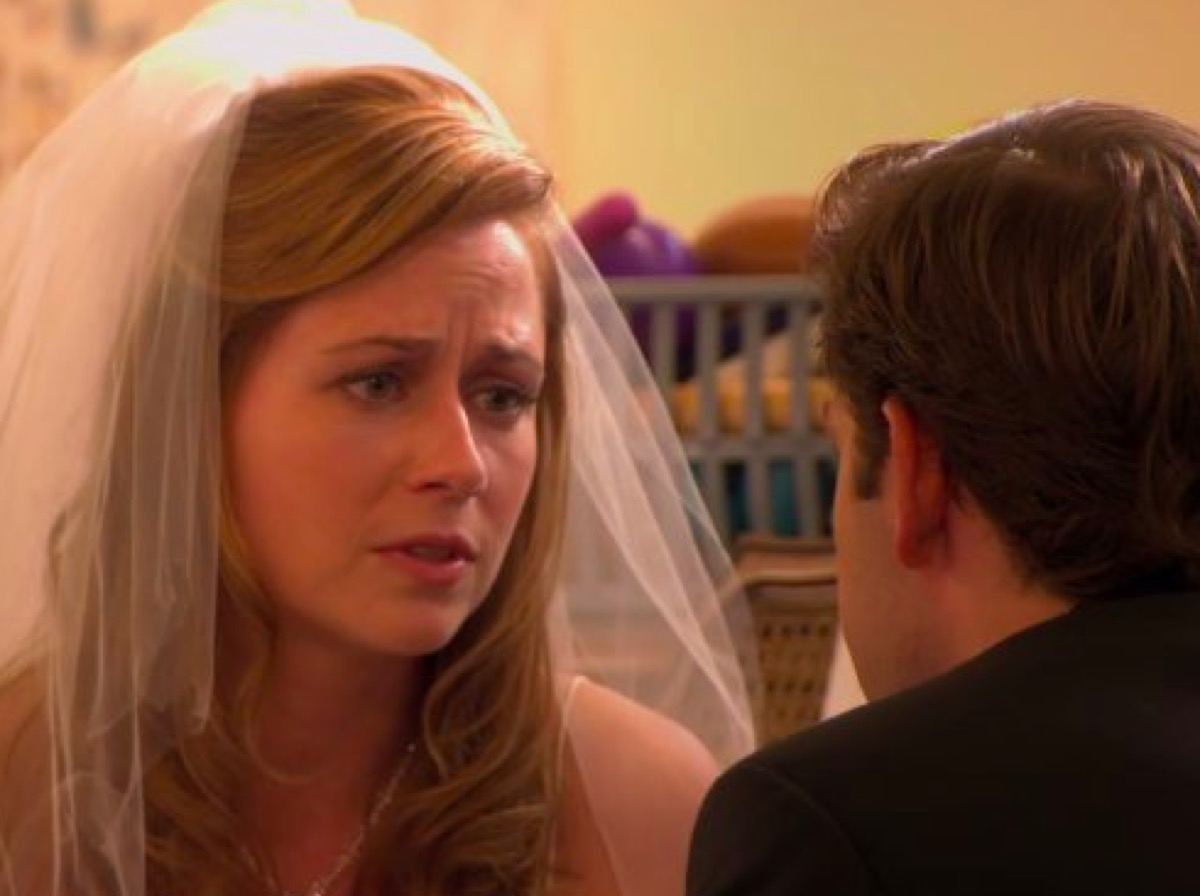 Jim and Pam married