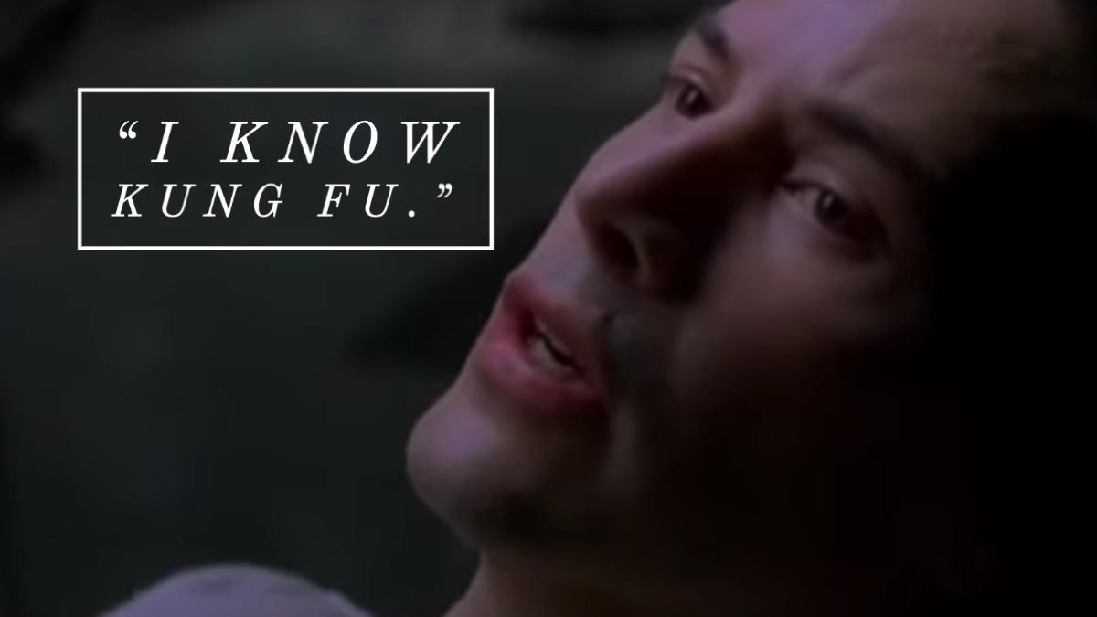 The Matrix movie quote