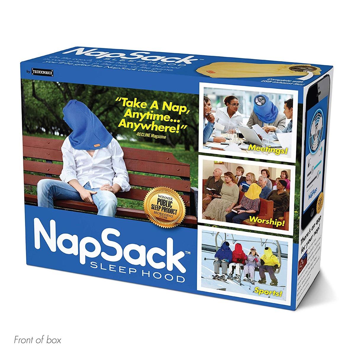 nap sack gag gift